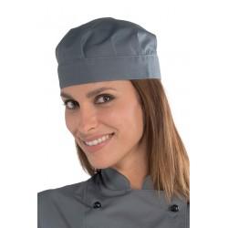 Unisex szürke szakácssapka