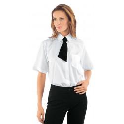 Női rövid ujjú fehér ing