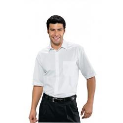 Férfi rövid ujjú fehér ing