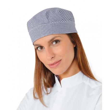 Unisex kockás szakácssapka